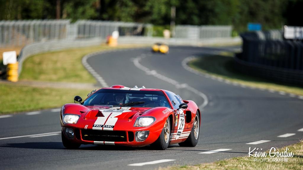 Le Mans Classic 2014 - Ford GT40 - Plateau 5