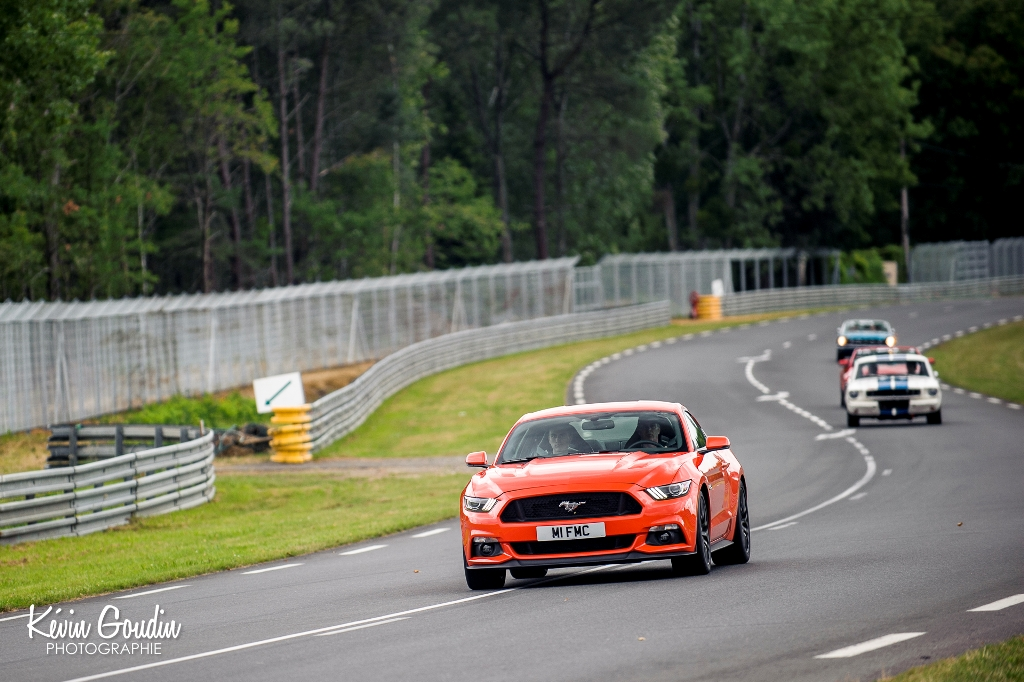 Le Mans Classic 2014 - Parade Ford - Ford Mustang 2015
