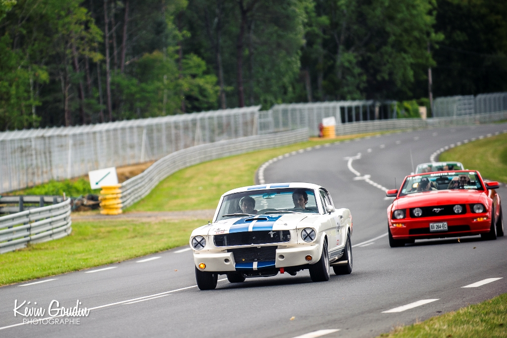 Le Mans Classic 2014 - Parade Ford - Ford Mustang GT 350