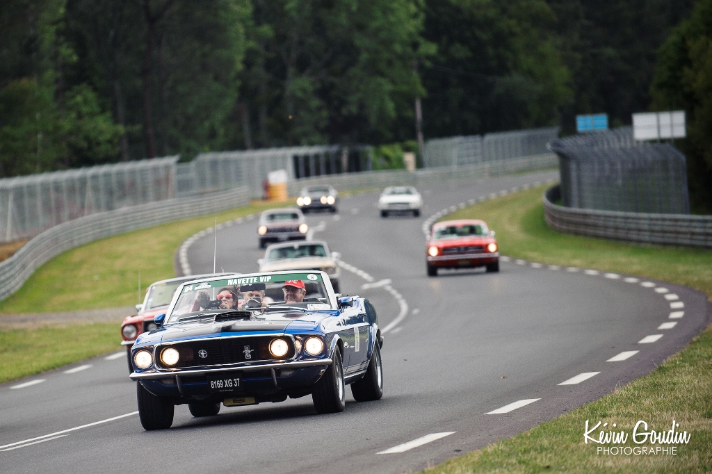 Le Mans Classic 2014 - Parade Ford - Ford Mustang