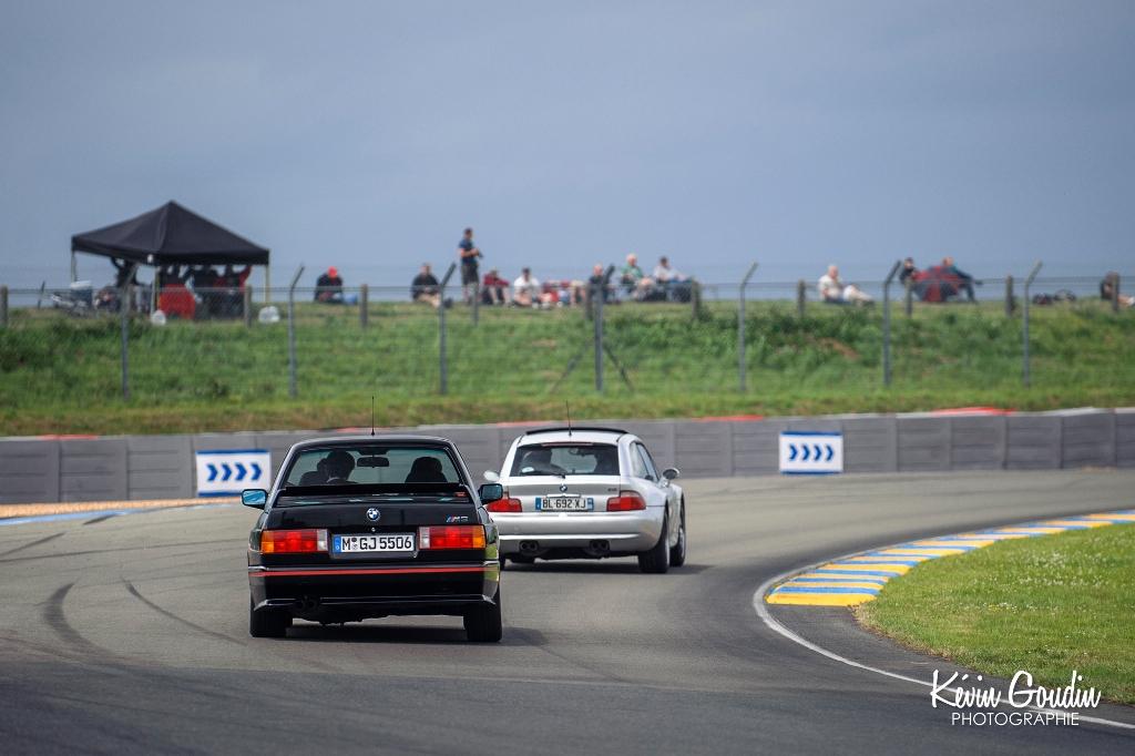Le Mans Classic 2014 - Parade BMW - M3 & Z3 Coupé