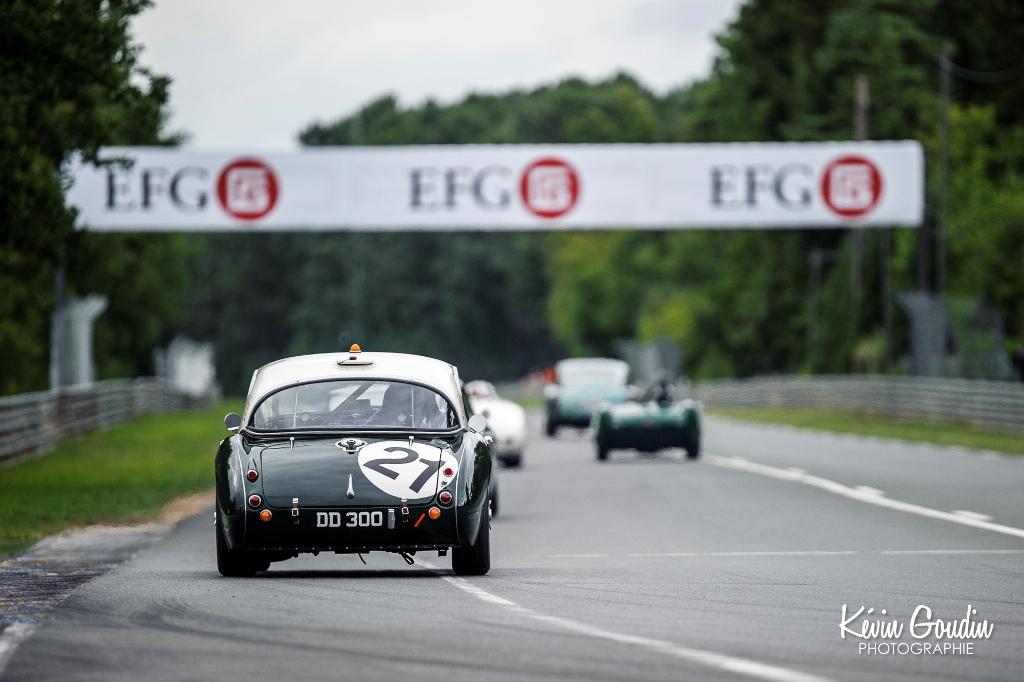 Le Mans Classic 2014 - Plateau 3 (1957-1961) - LE BLANC (AUSTIN HEALEY 3000)