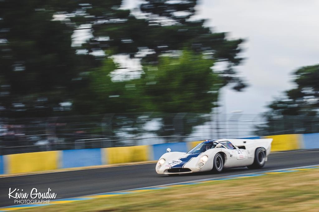 Le Mans Classic 2014 - Plateau 5 (1966 - 1971) - FRANCE-FRANCE (LOLA T70 Mk III)