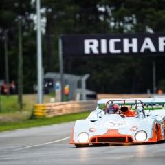 La Mans Classic 2014 : plateau 6, Mirage devant Lola et Porsche