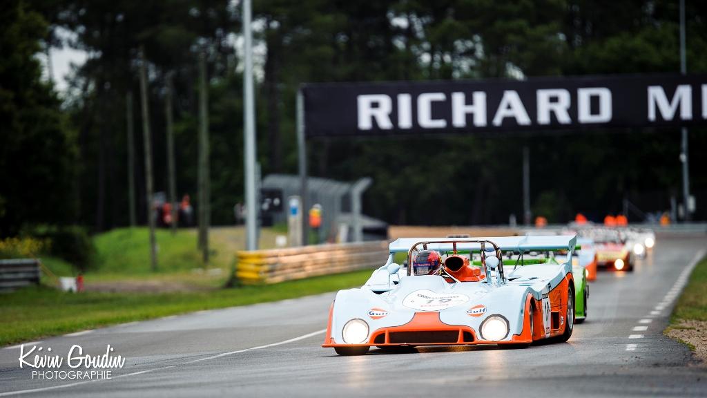 Le Mans Classic 2014 - Plateau 6 (1972 – 1979) - MAC ALLISTER (GULF MIRAGE)