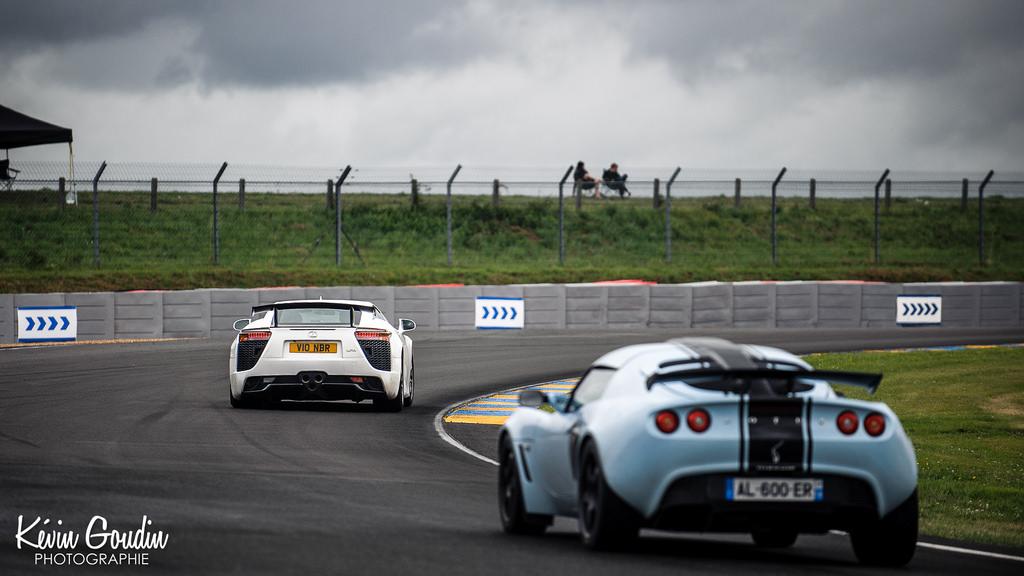 Lexus LFA & Lotus Exige S2 - Circuit des 24 Heures du Mans