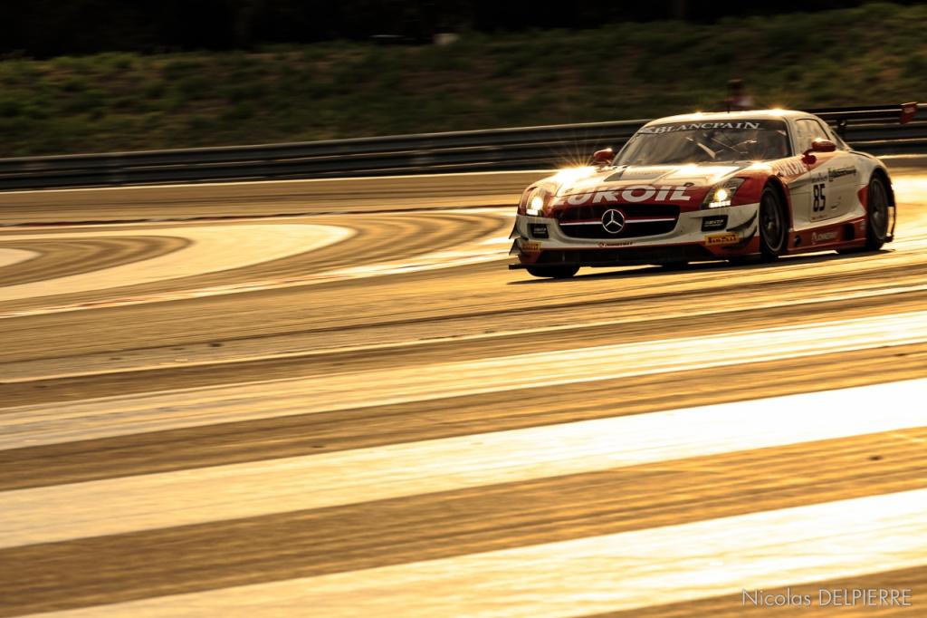 Blancpain Endurance Series - Le Castellet Paul ricard - Mercedes SLS AMG GT3 n°85 Wolf-Afanasirv-Düsseldorp