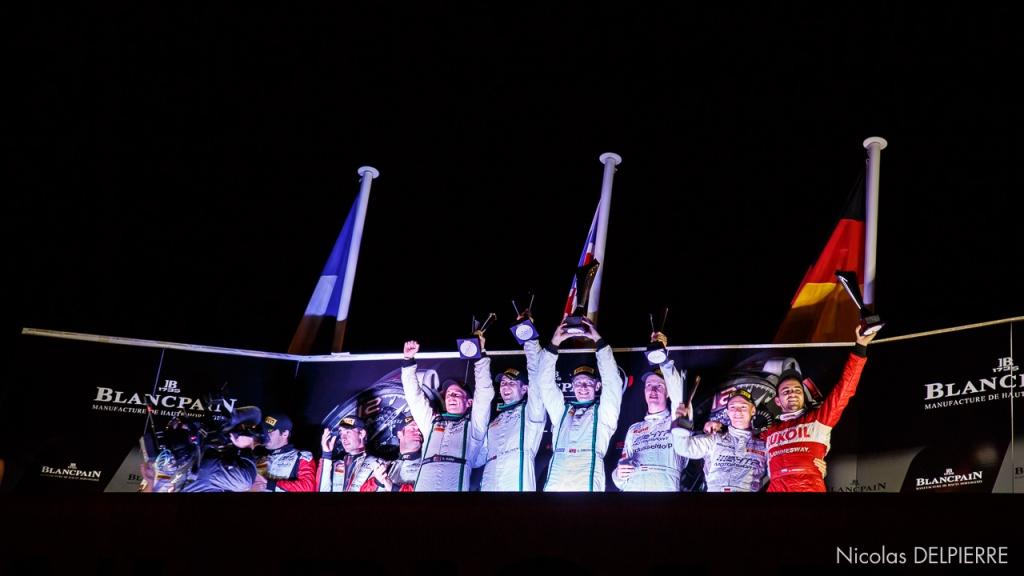 Blancpain Endurance Series - Le Castellet Paul Ricard - Podium