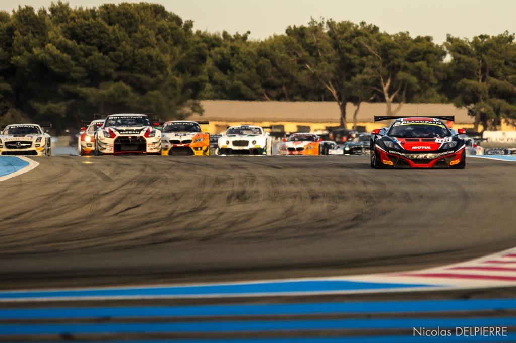 Blancpain Endurance Series - Le Castellet Paul ricard - McLaren 12C GT3 n°98 Lapierre-Parente-Demoustier