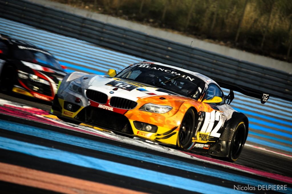 Blancpain Endurance Series - Le Castellet Paul Ricard - BMW Z4 n°12 Hassid-Catsburg