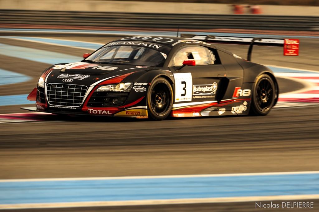 Blancpain Endurance Series - Le Castellet Paul Ricard - Audi R8 LMS Ultra n°3 Nash-Stippler-Mies