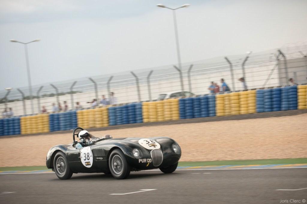 Le Mans Classic 2014 - Plateau 2 (1949-1936) - FINBURGH-NEWALL (JAGUAR TYPE-C)