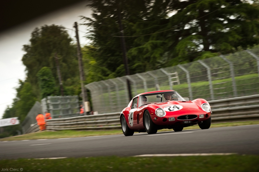 Le Mans Classic 2014 - Exposition Ferrari 250 GT