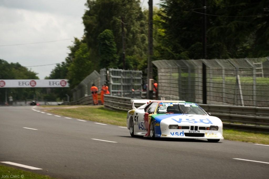 Le Mans Classic 2014 - Parade BMW - M1