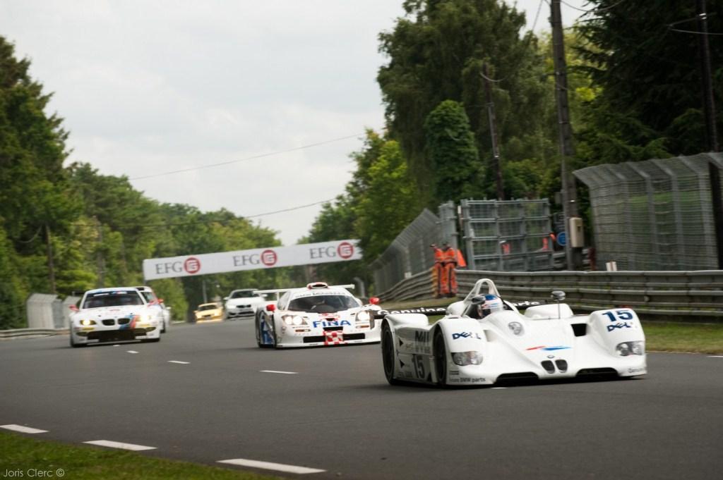 Le Mans Classic 2014 - Parade BMW - V12 LMR