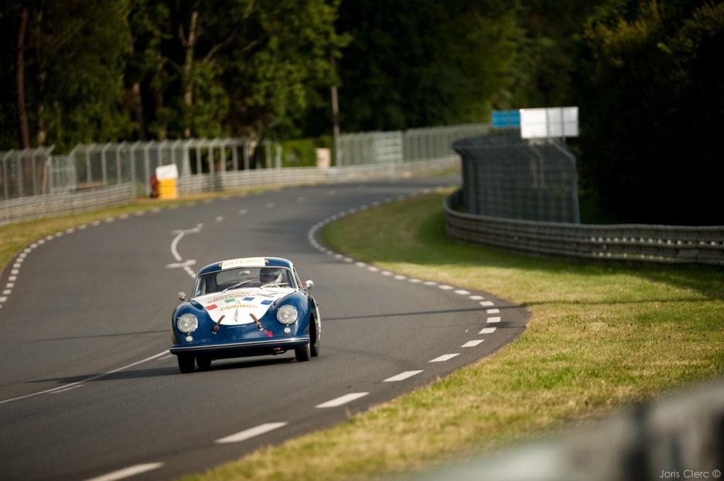 Le Mans Classic 2014 - Plateau 2 (1949-1936) - AGA KHAN-PRILL-CLARK (PORSCHE 356 Pre A - 1952)