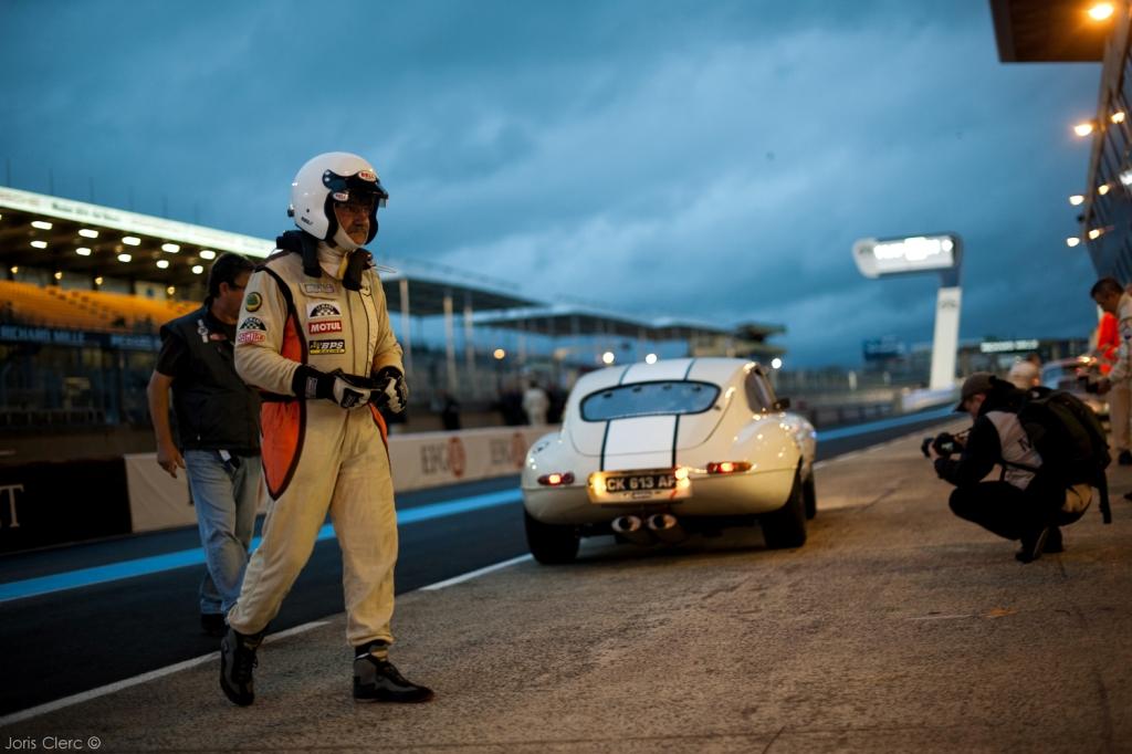 Le Mans Classic 2014 - Plateau 4 (1962 - 1965) - LAJOURNADE-AUBRY (JAGUAR Type E)