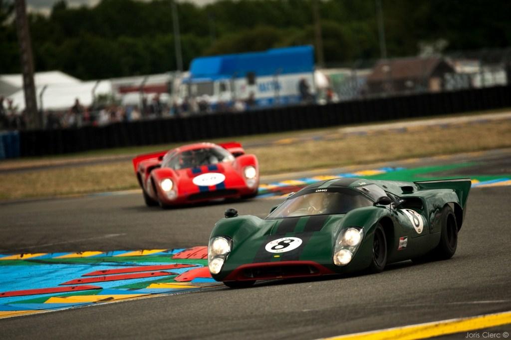 Le Mans Classic 2014 - Plateau 5 (1966 - 1971) - HART (LOLA T70 Mk III)