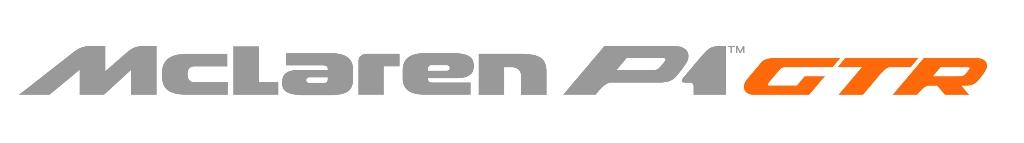 McLaren P1 GTR Logo