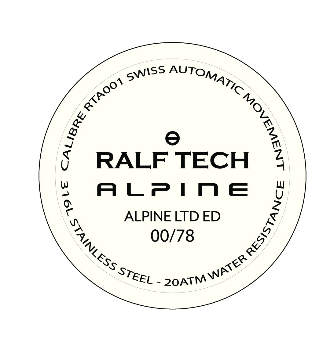 Ralf Tech WRV R Alpine - Fond / Case back