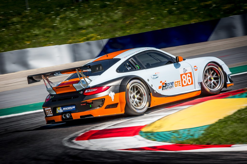 ELMS European Le Mans Series, 4 Heures Red Bull Ring - Gulf Racing UK - Porsche 911 GT3 RSR