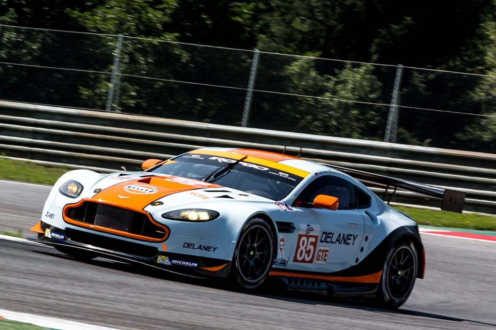 ELMS European Le Mans Series, 4 Heures Red Bull Ring - Gulf Racing UK - Aston Martin Vantage V8