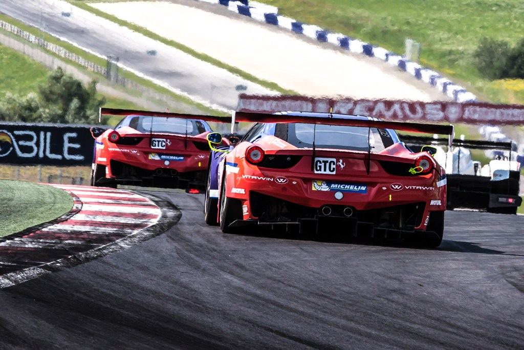 ELMS European Le Mans Series, 4 Heures Red Bull Ring - SMP Racing - Ferrari 458 Italia