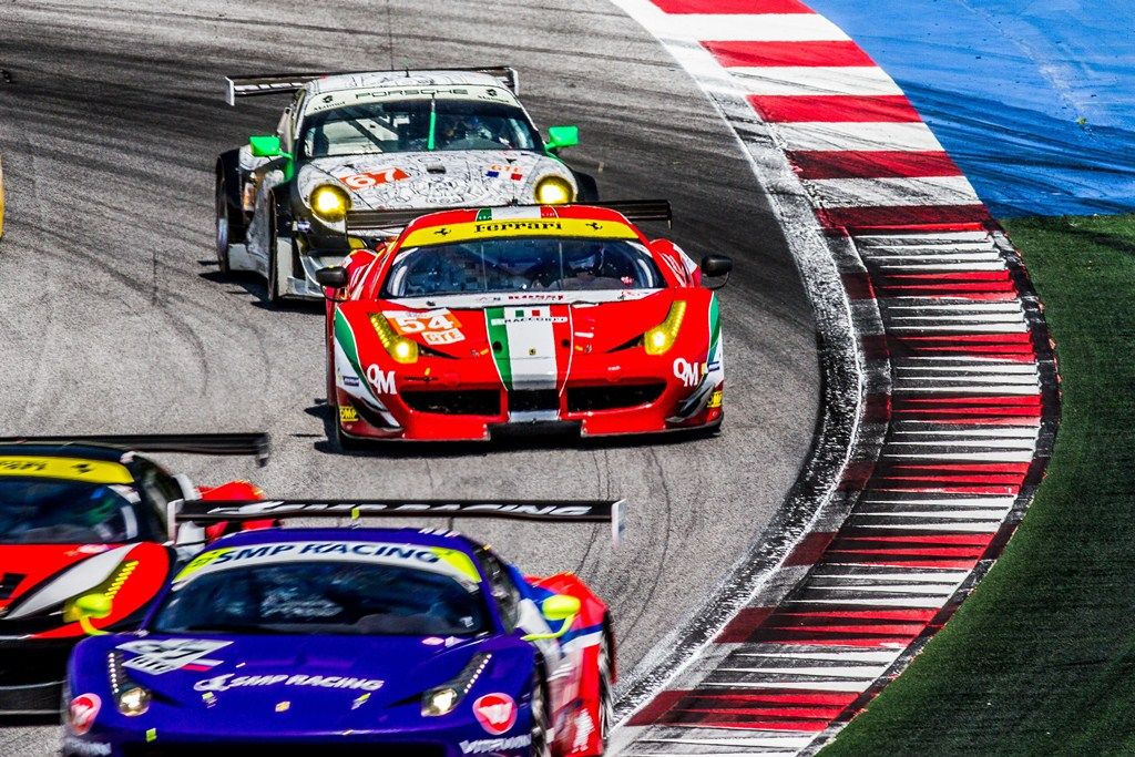 ELMS European Le Mans Series, 4 Heures Red Bull Ring - AF Corse Ferrari 458 Italia