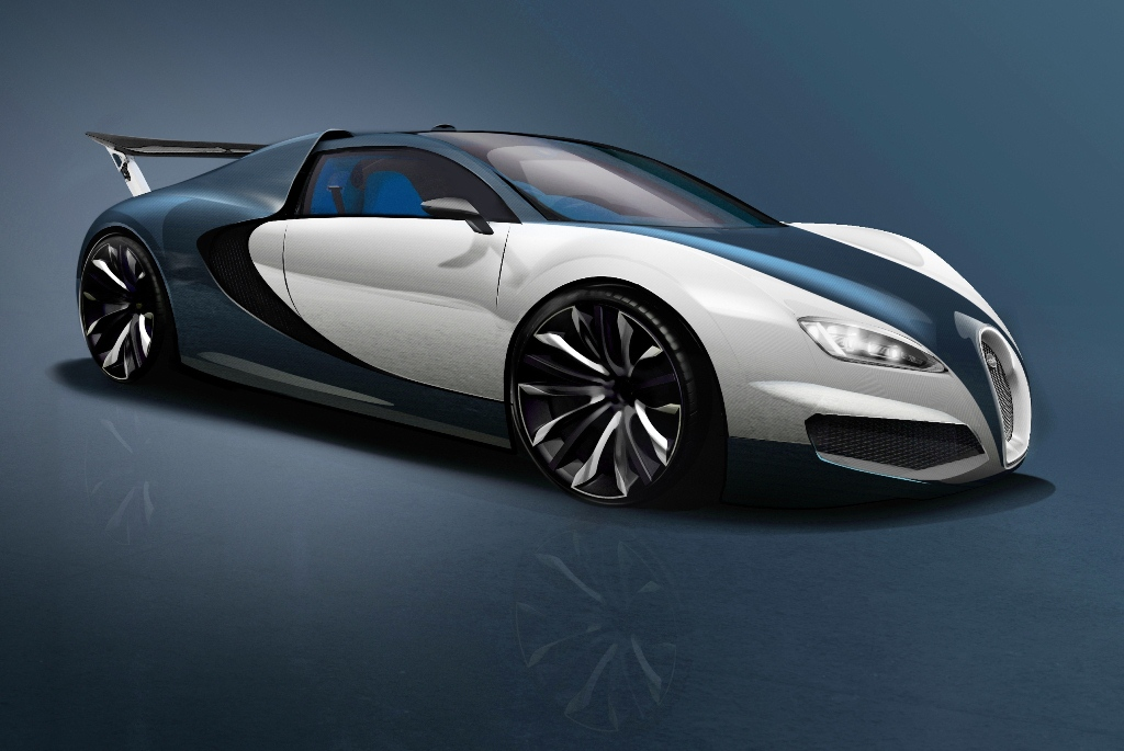 future bugatti veyron   1 500 cv pour 470 km  h