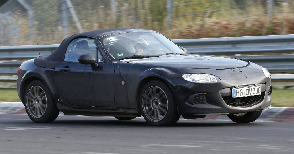 "Mazda MX-5 ""mule"" type ND base NC - Nurburgring 2013"