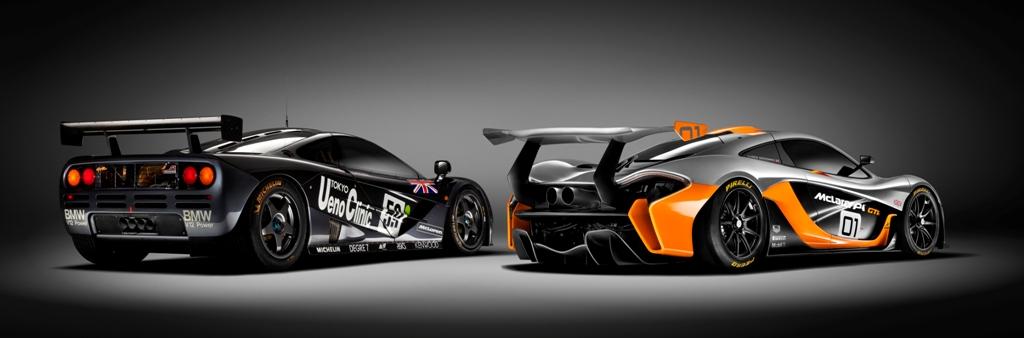 McLaren P1 GTR et F1 GTR