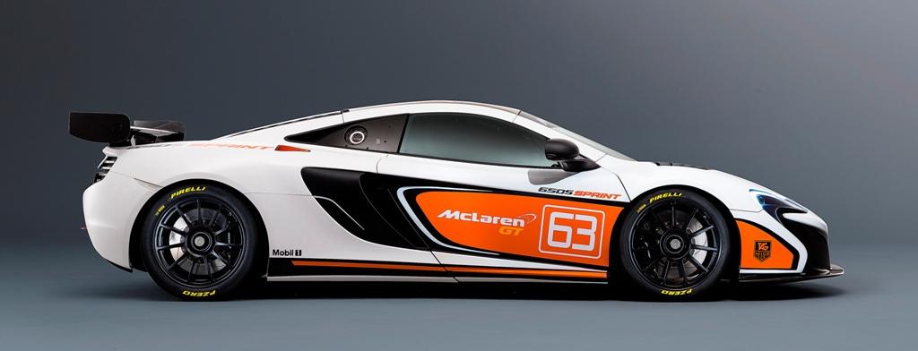 McLaren 650 GT Sprint