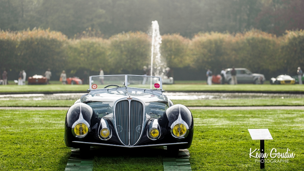 Chantilly Arts & Elégance Richard Mille 2014 - Kévin Goudin Photographie - Delahaye 135M Phaeton Grand Sport de 1937