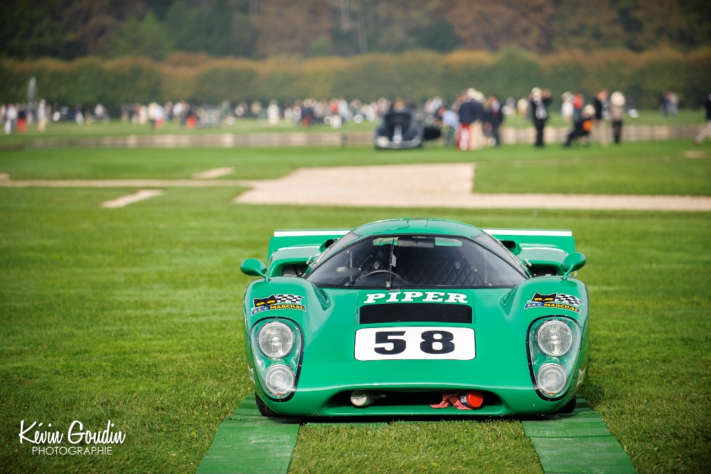 Chantilly Arts & Elégance Richard Mille 2014 - Kévin Goudin Photographie - Lola T70 MkIII David Piper