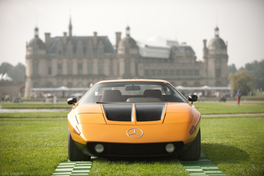 Chantilly Arts & Elégance Richard Mille 2014 - Joris Clerc Photographie - Mercedes C111/1