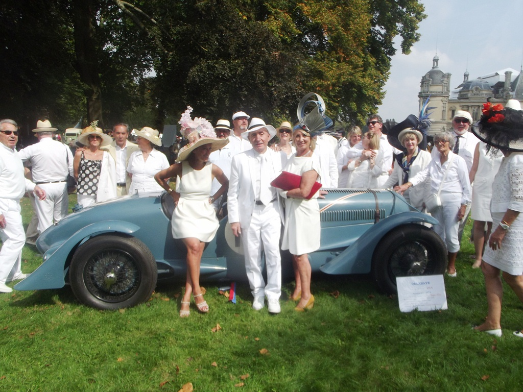 Chantilly Arts & Elégance Richard Mille 2014 - JF Aurelle - Club Delahaye