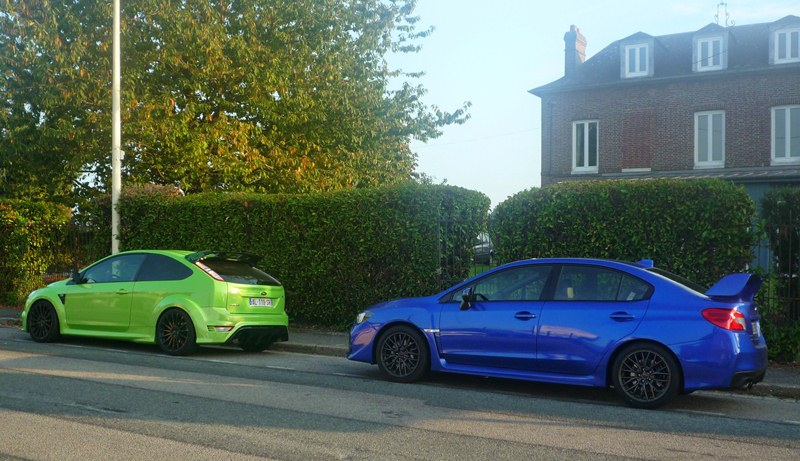 Subaru WRX STI - Ford Focus RS