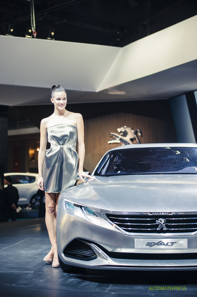 Mondial de l'Automobile Paris 2014 - les hôtesses