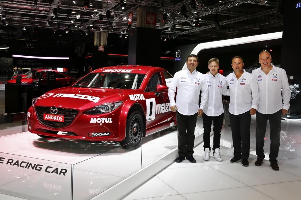Mazda Saintéloc Trophée Andros