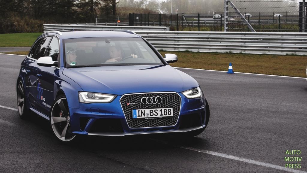 Circuit de Bilster Berg - Audi Driving Experience - Audi RS4 Avant