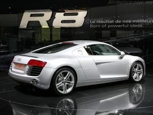 Audi R8 - Mondial de l'Automobile de Paris 2006