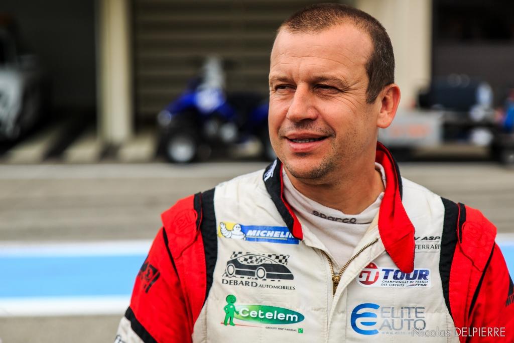 GT Tour 2014 - Circuit du Castellet Paul Ricard - Olivier Panis