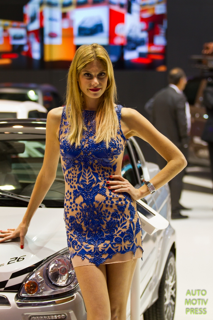 Mondial de l'Automobile Paris 2014 - les hôtesses