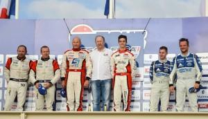 GT Tour 2014 - Circuit du Castellet Paul Ricard - Podium 2ème manche