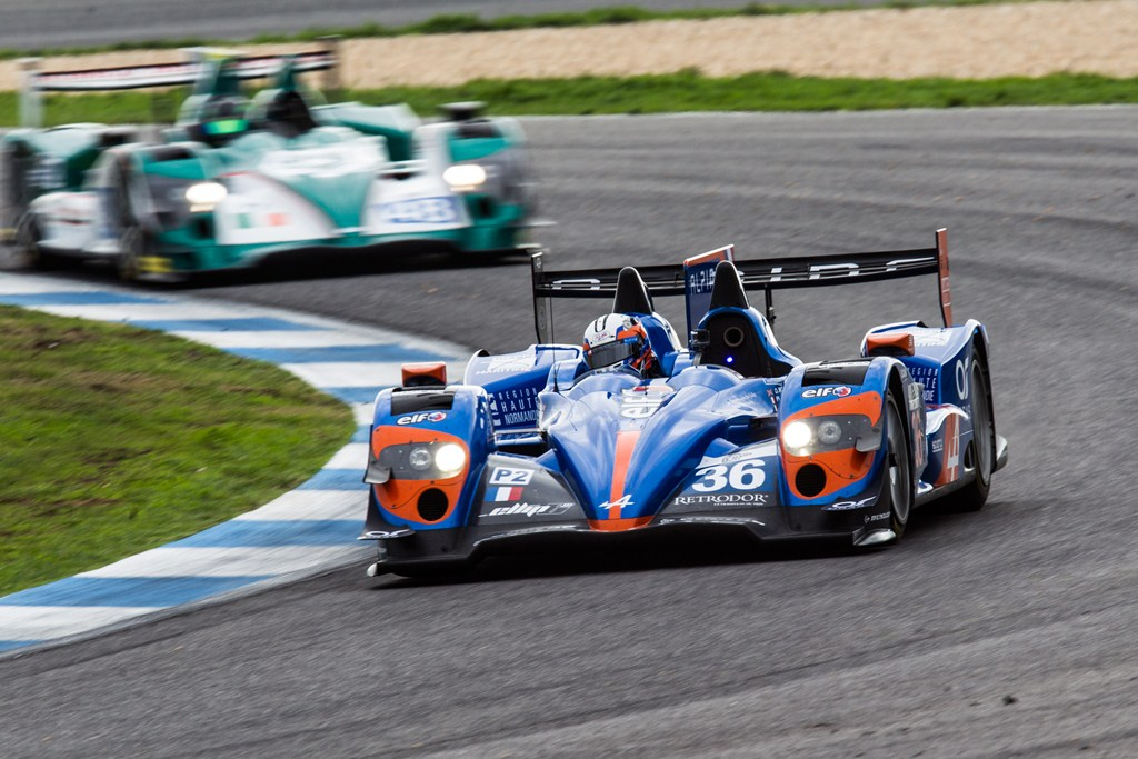 Alpine A450b - ELMS Estoril 2014