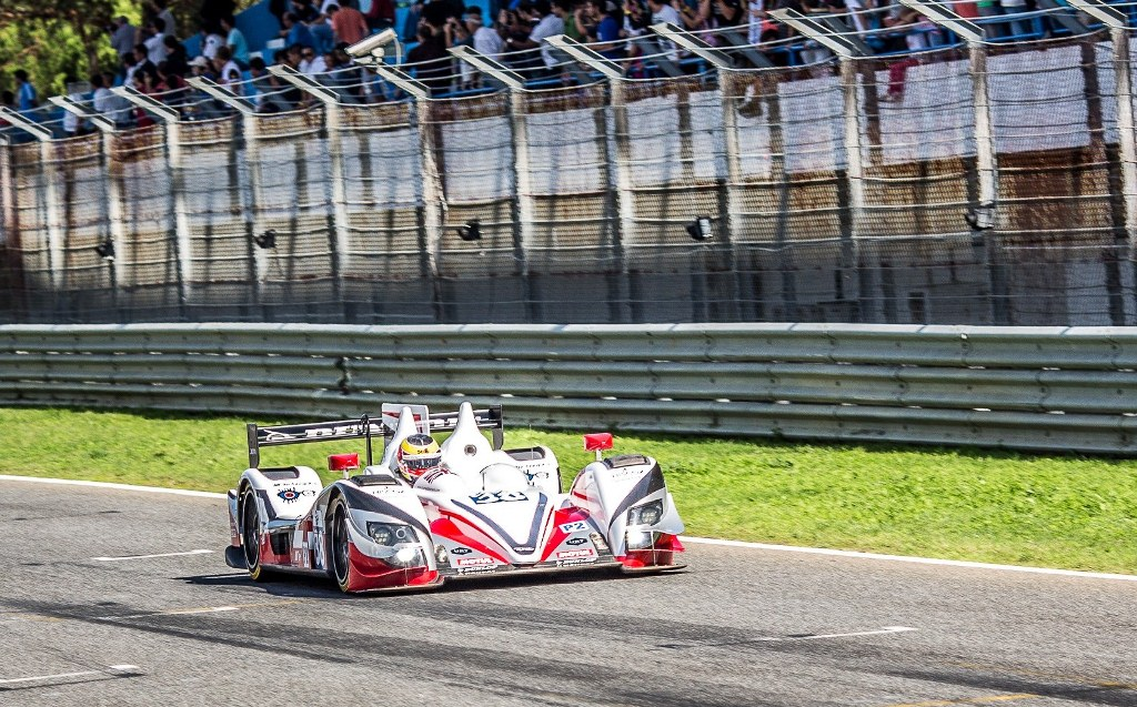 Simon Dolan (GBR) / Harry Tincknell (GBR) / Filipe Albuquerque (PRT) drivers of car #38 JOTA SPORT  (GBR) Zytek Z11SN – Nissan – 4 Hours of Estoril at Circuito Estoril – Cascais – Portugal
