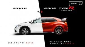 """Honda Civic Type R - """"Un autre visage"""""""