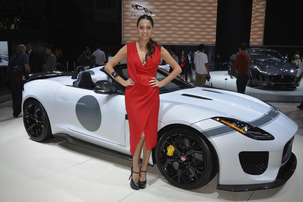 Jaguar Project 7 - Los Angeles Auto Show 2014