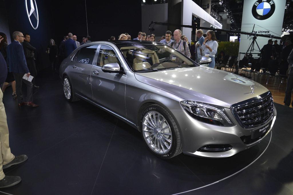 Mercedes Maybach - Los Angeles Auto Show 2014