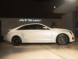 Cadillac ATS-V - Los Angeles Auto Show 2014